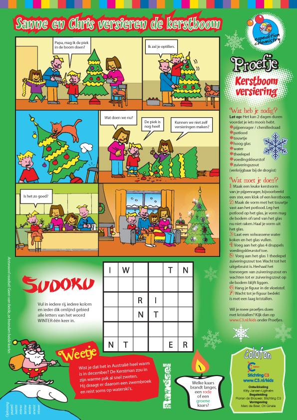 2011_Sanne_en_Chris_versieren_de_kerstboom